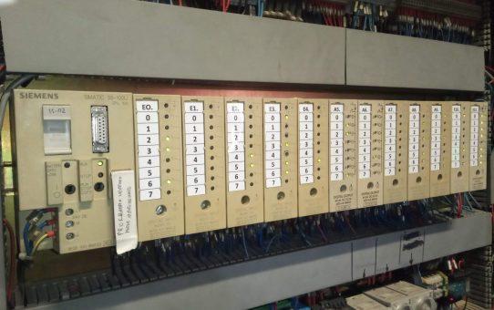 Dépannage machine installée en 1996